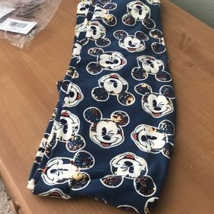 LuLaRoe Mickey Mouse TC Leggings